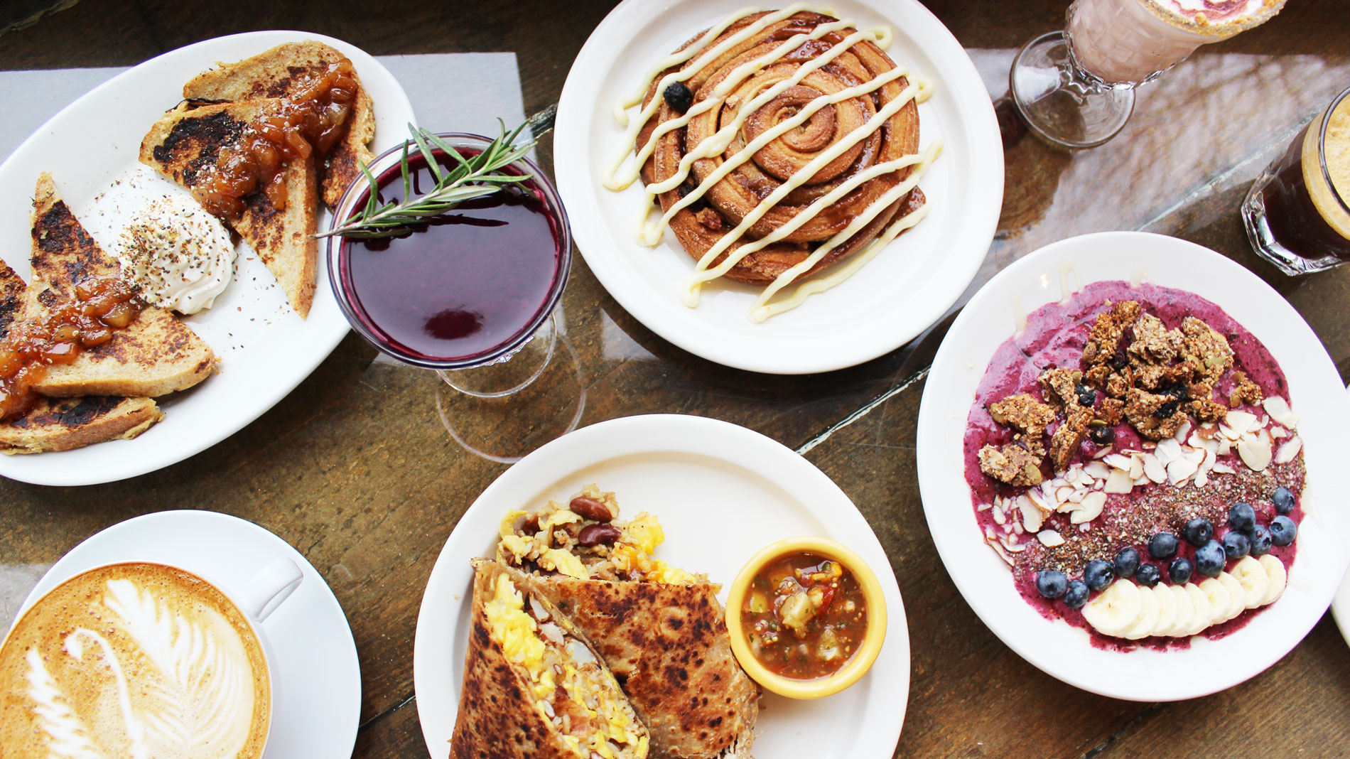breakfast dishes and cocktails at kitchen house coffee's new location in south city