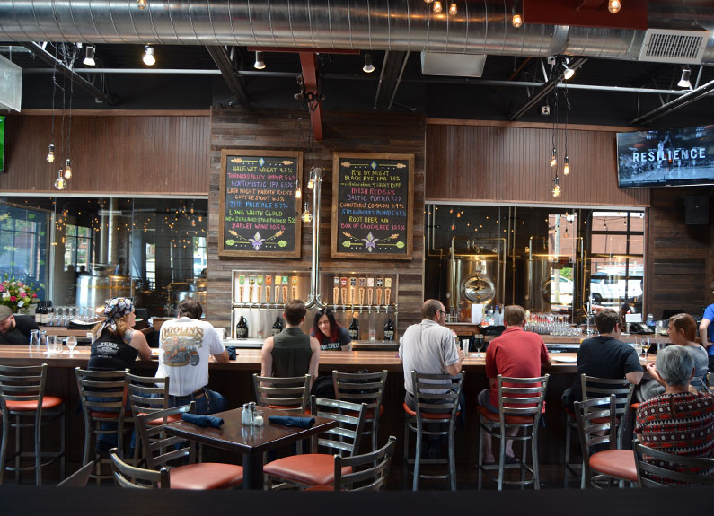 Charleville Brewing Co. in Lafayette Square