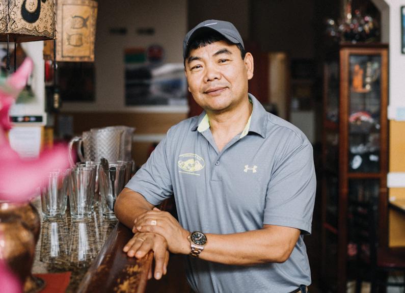 What I Do: Devi Gurung States of Everest Café