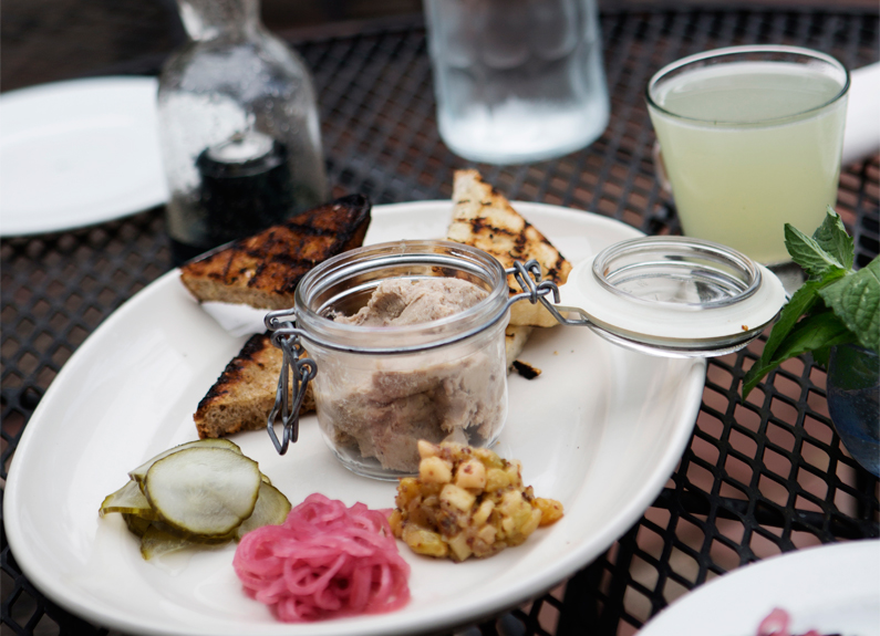 The Potted Pig at The Block in webster groves