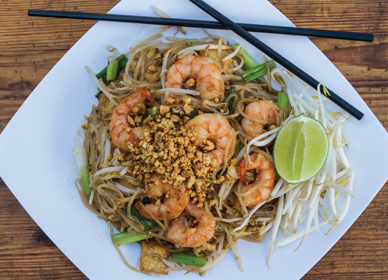 pad thai from Pearl Cafe in Florissant