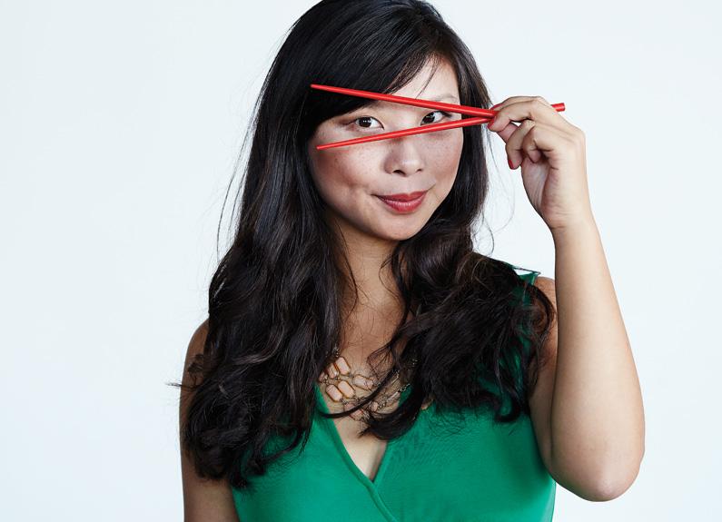 Julia Li of Lu Lu Fresh Express
