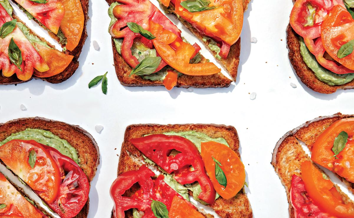 Vicia's Tomato Tartine