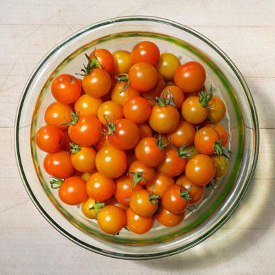 Farmhaus' Sungold Tomato Salad