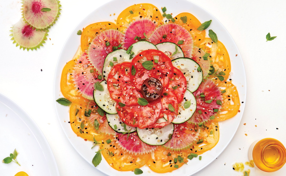 Farmhaus' Tomato Carpaccio