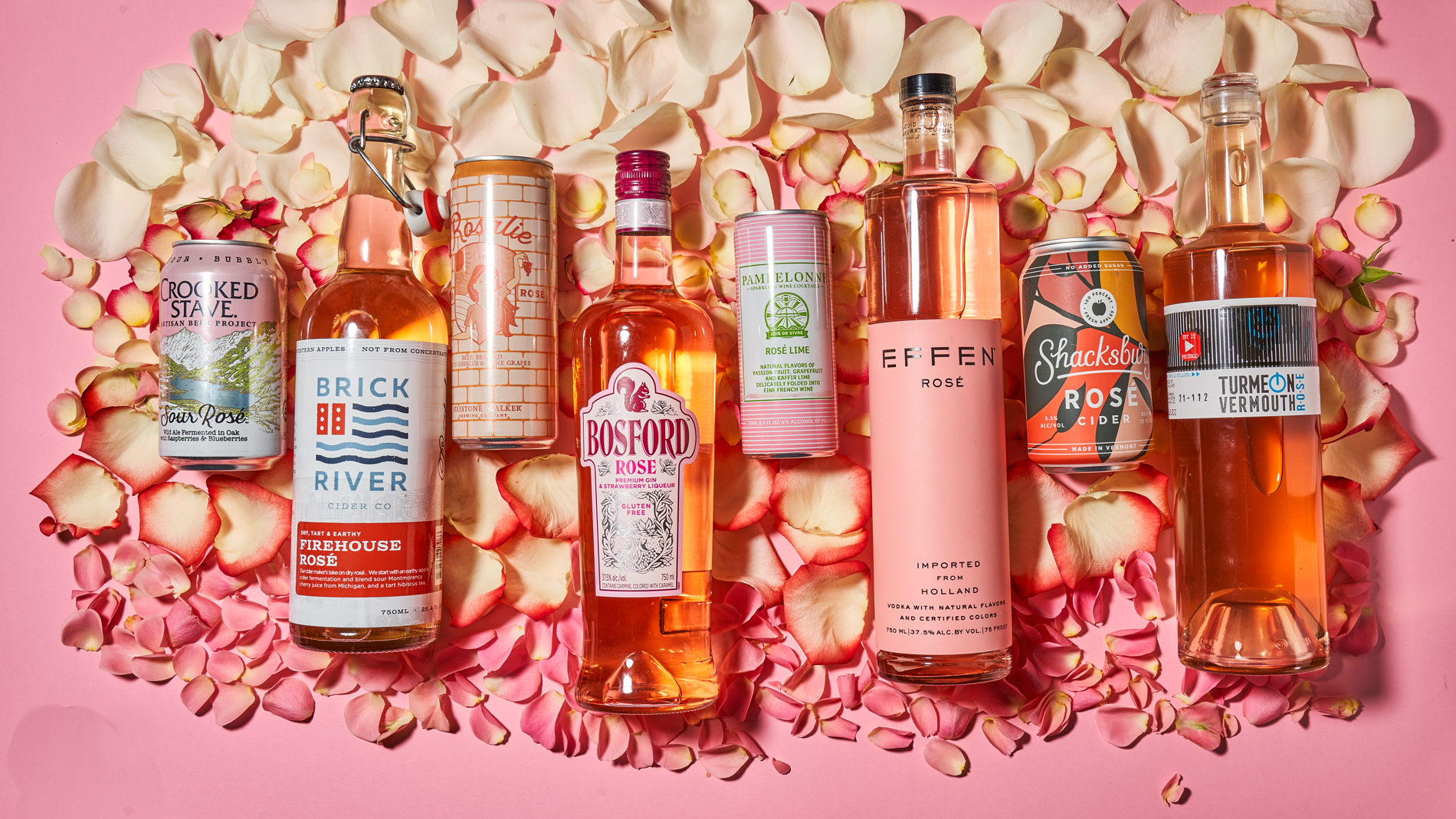 Summer's hottest drinking trend: rosé everything
