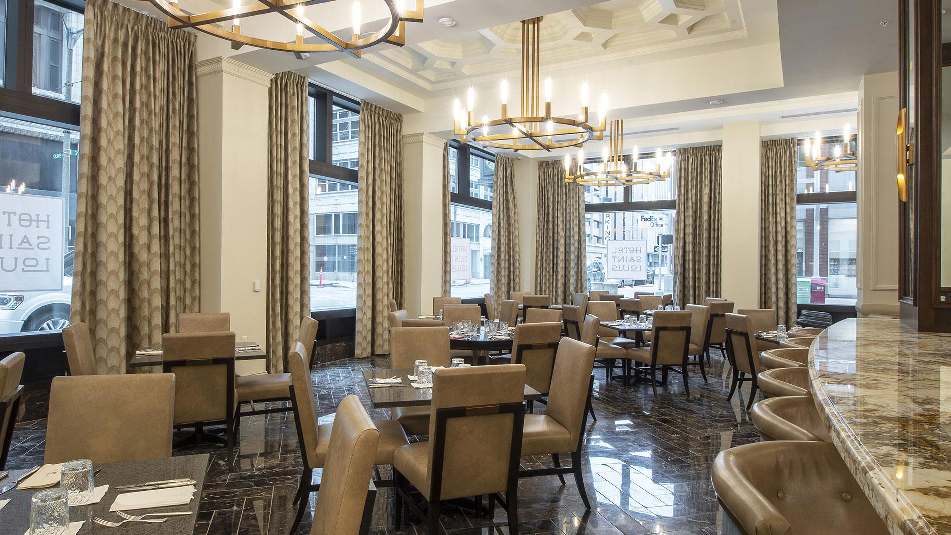 union 30 restaurant at hotel saint louis