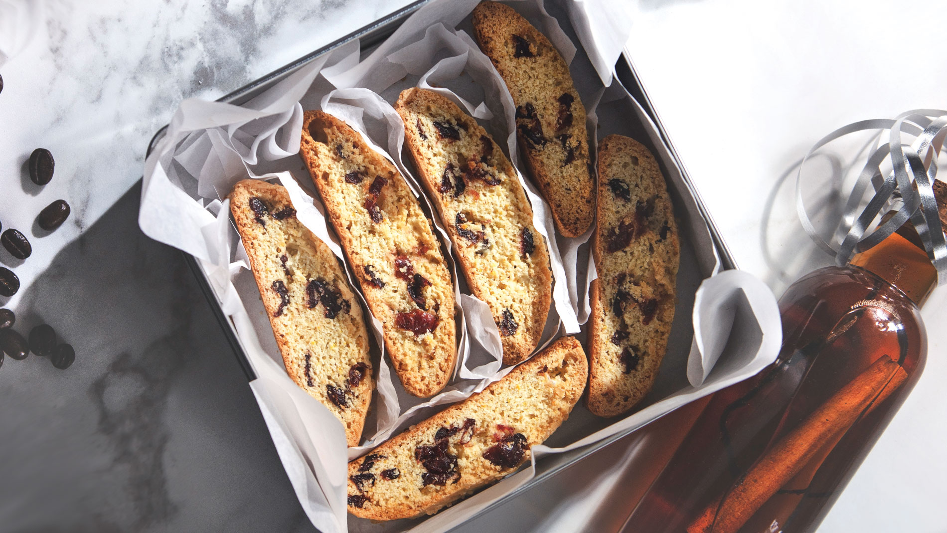 Cranberry-Orange Biscotti recipe