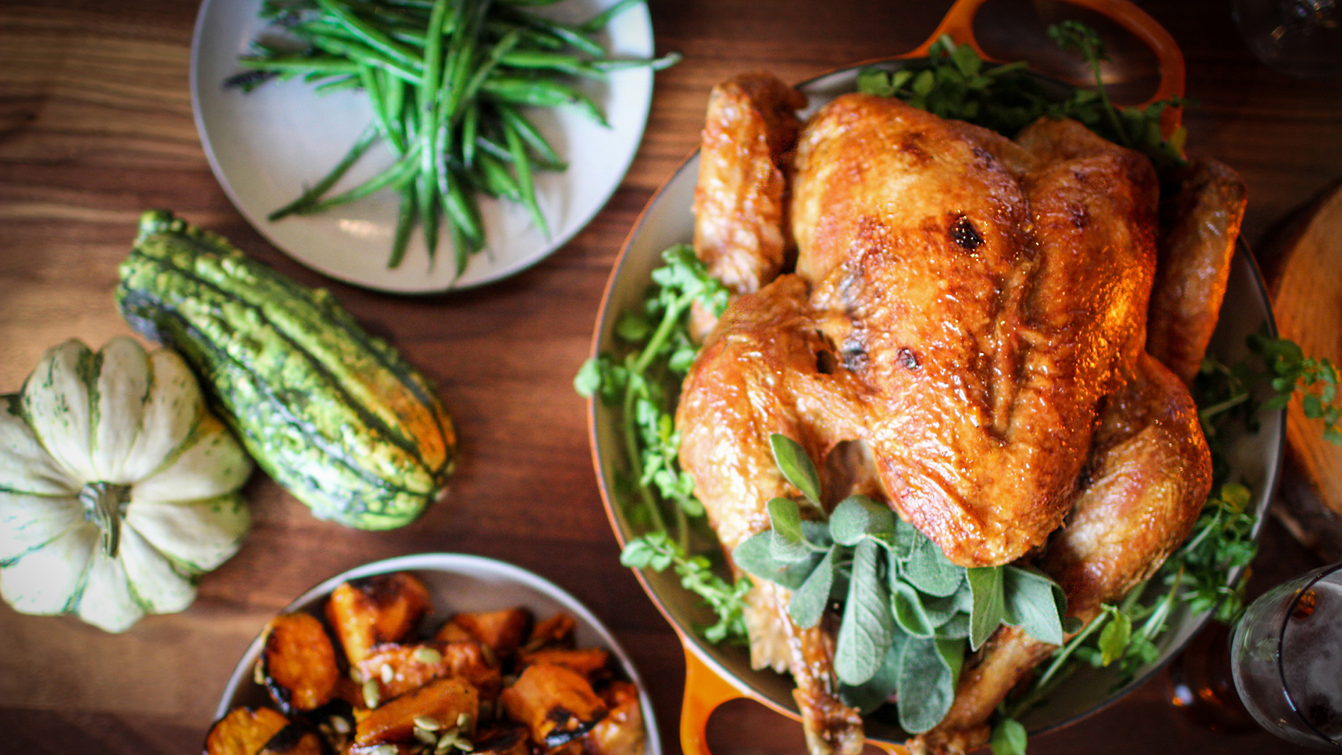 Thanksgiving To-Go from the four seasons hotel st. louis