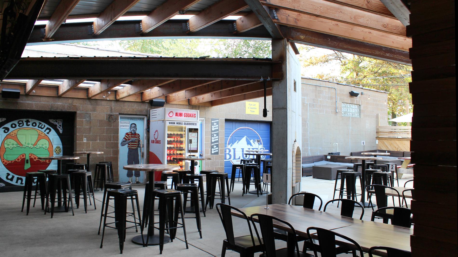tamm avenue bar's new patio