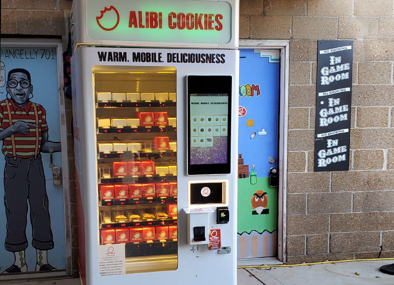 alibi cookies vending machine in st louis