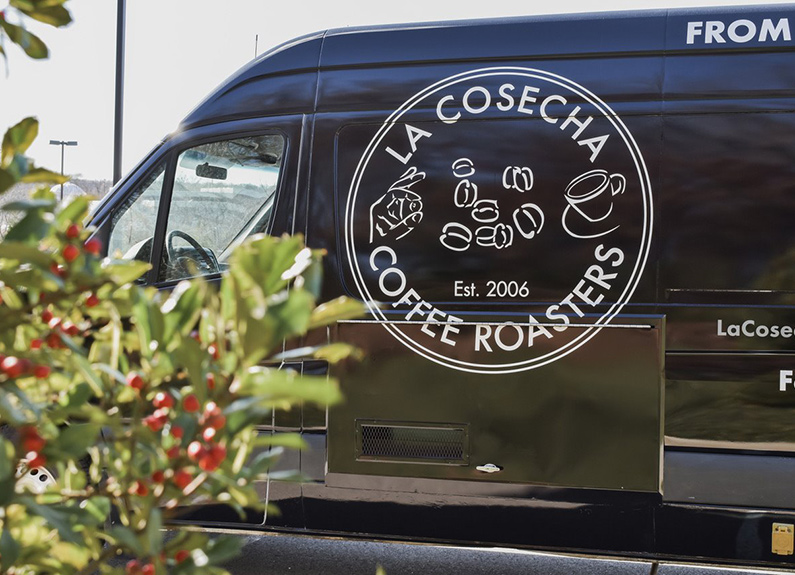la cosecha coffee roasters truck in st. louis
