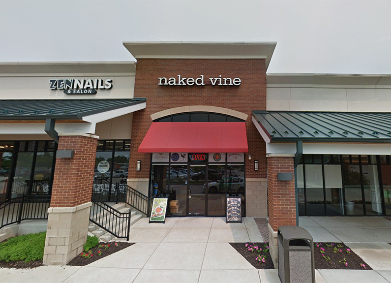 the naked vine in chesterfield