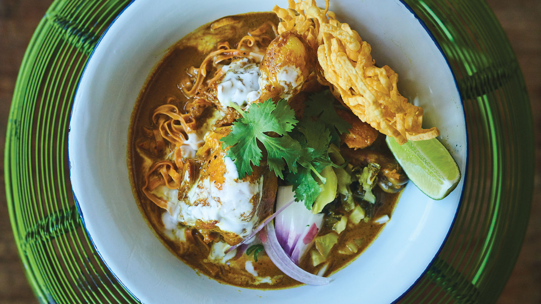 khao soi from chiang mai in webster groves