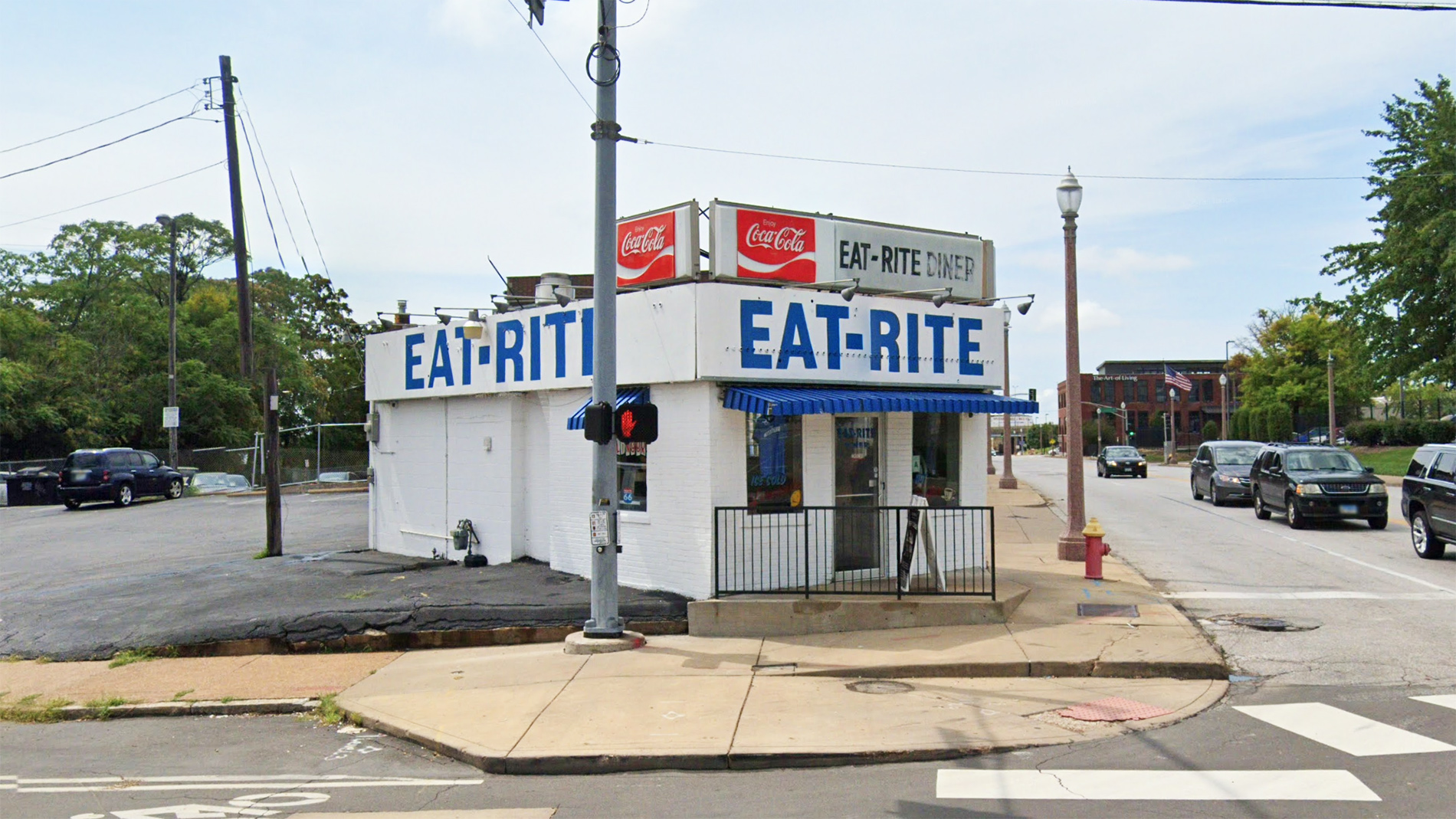 eat-rite diner in downtown st. louis