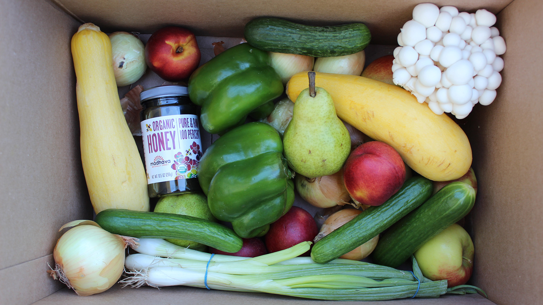 a box of produce