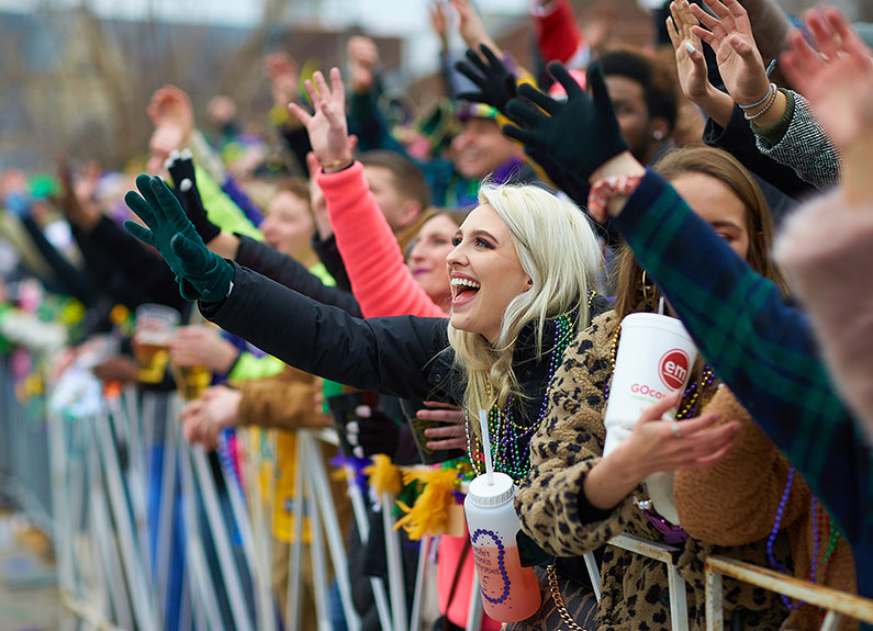 St. Louis Mardi Gras is the second largest Mardi Gras celebration in the country.
