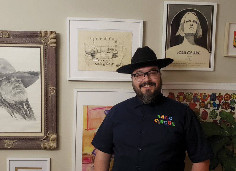 Christian Ethridge of Taco Circus