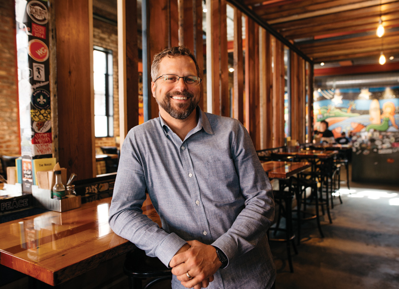 Mission Taco Joint co-owner Adam Tilford
