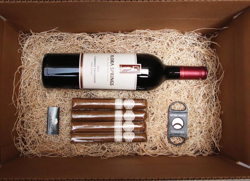 Brennan's Booze & Snacks gift box