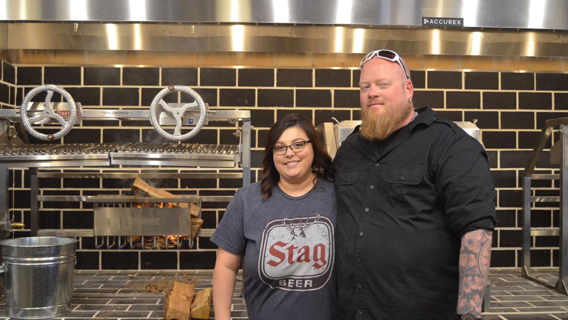 BEAST craft bbq co-owners David and Meggan Sandusky