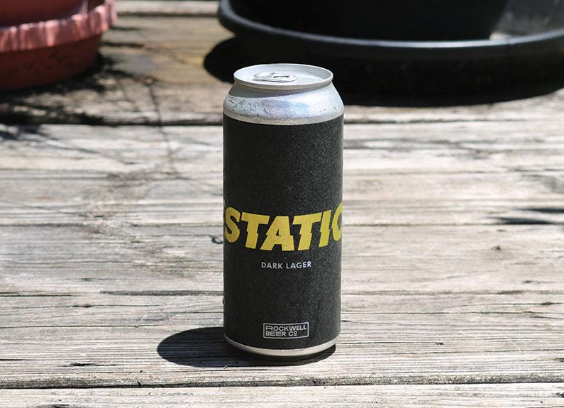 rockwell's static dark lager