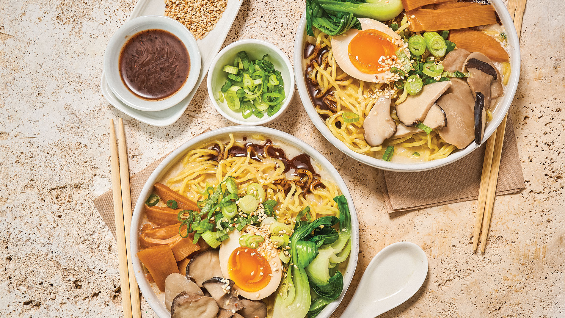 Eat this Shroomed Out ramen from Nudo House