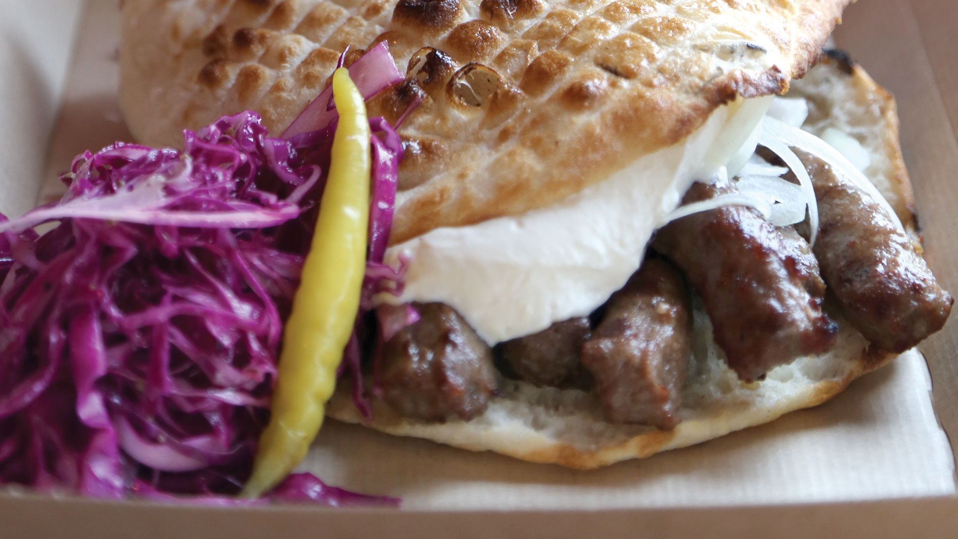 Cevapi from balkan treat box in webster groves