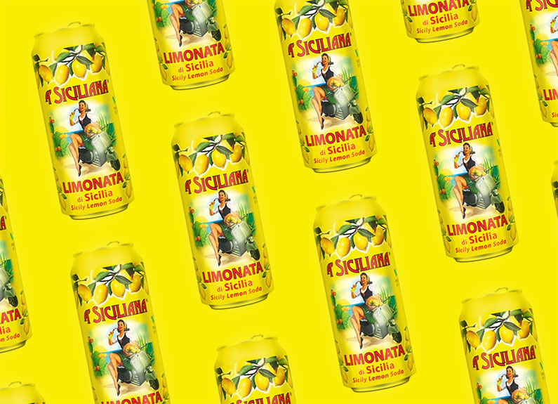 A' Siciliana Limonata soda