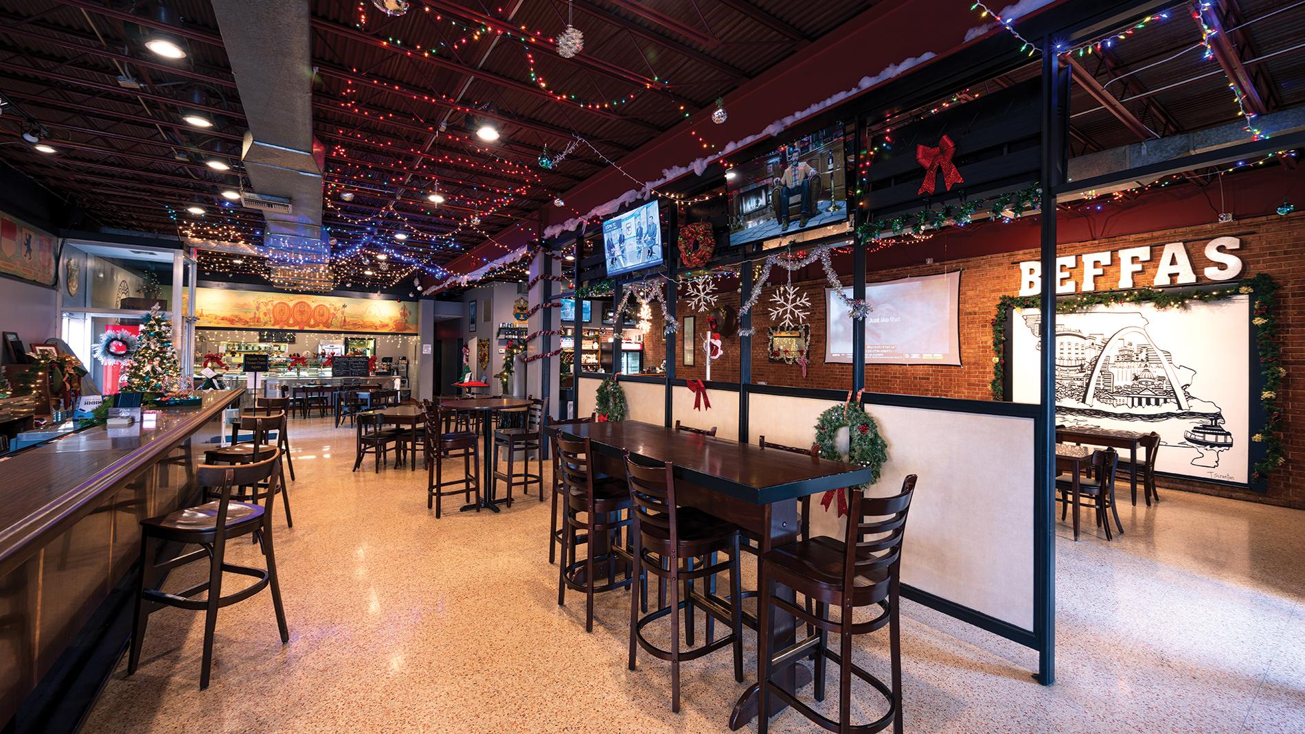 Beffa's Bar & Restaurant in st. louis