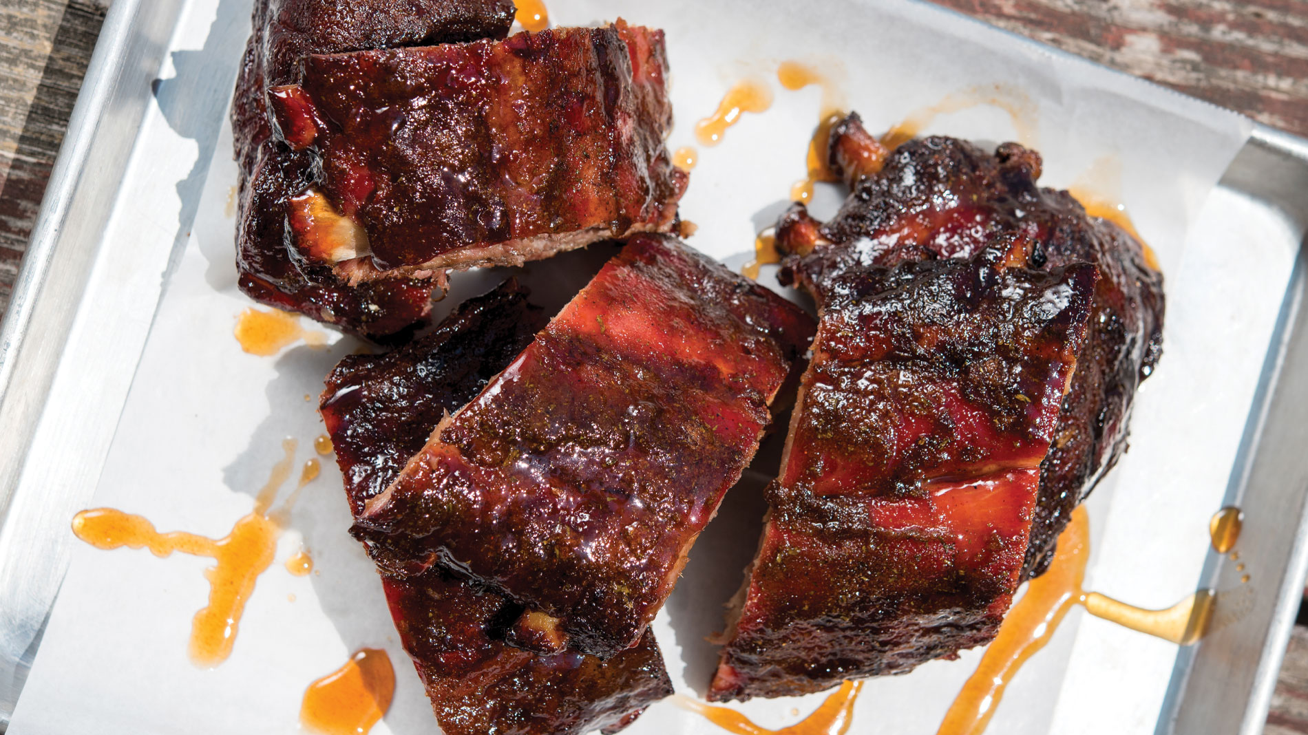 ribs from the stellar hog in chesterfield
