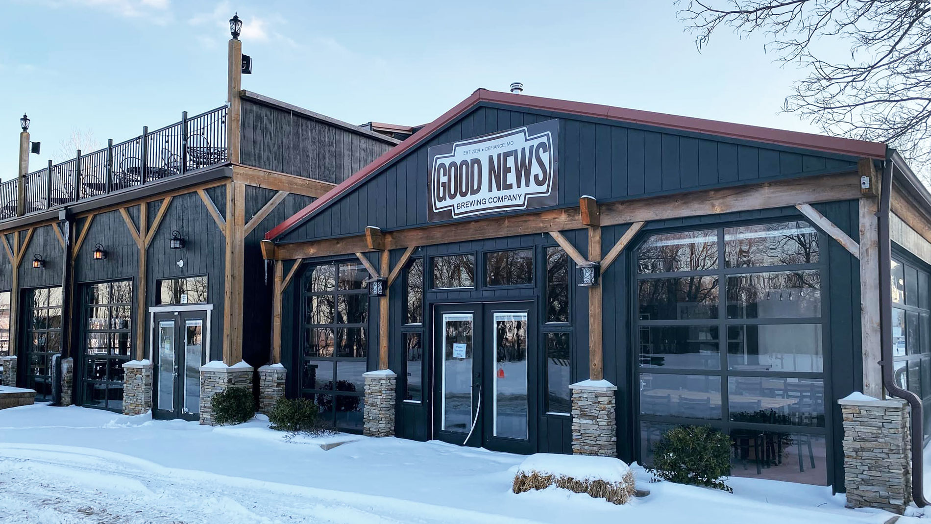 Good News Brewing Co. in defiance, missouri