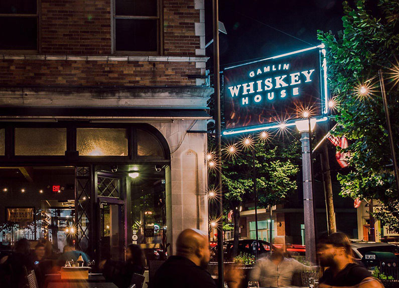gamlin whiskey house in the central west end