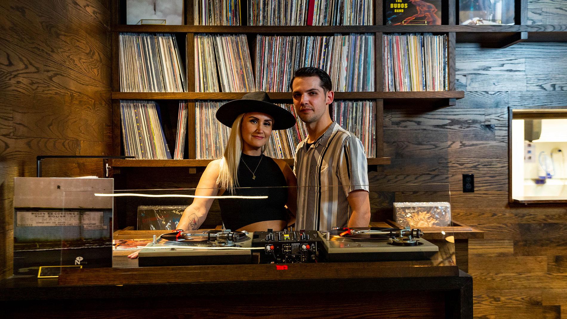 takashima record bar owners robbie and dan hayden