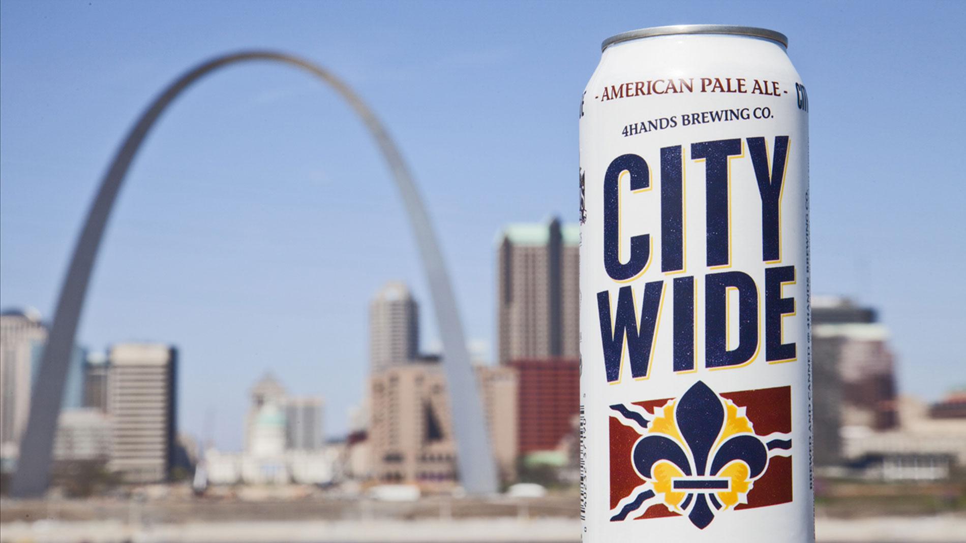 4 Hands Brewing Co.'s City Wide pale ale