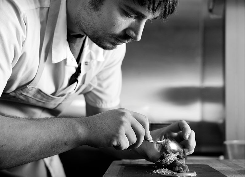 pastry chef at Sidney Street Cafe, Bob Zugmaier