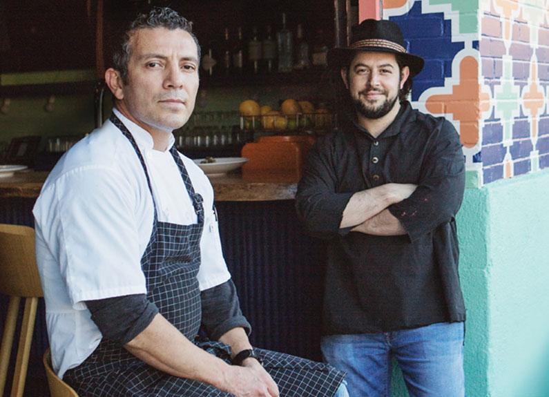 nixta executive chef tello carreón and owner ben poremba