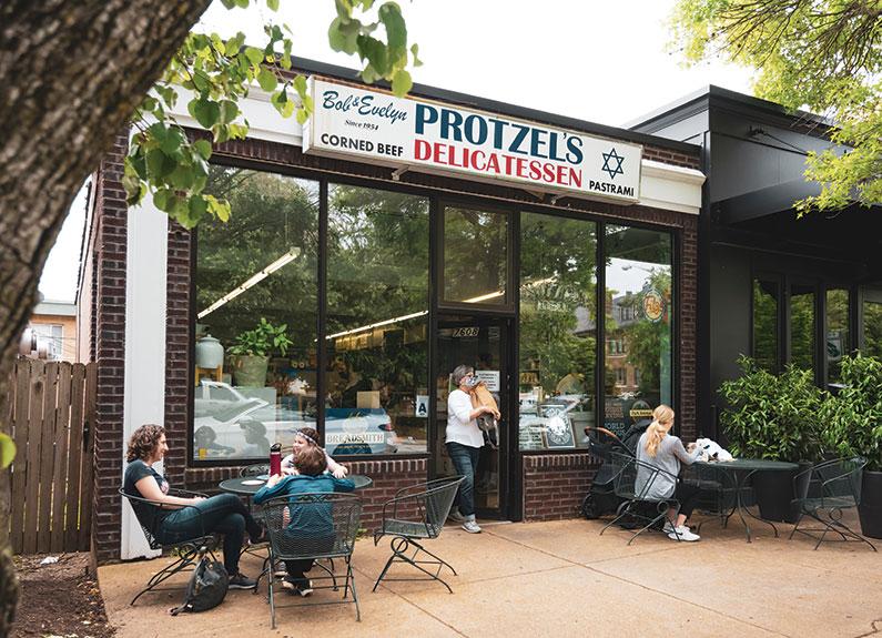 protzel's delicatessen in clayton