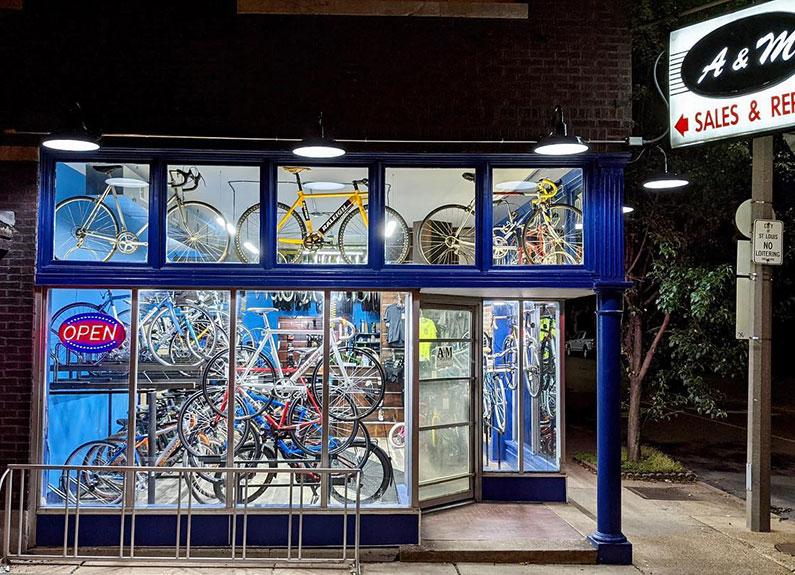 cursed bikes & coffee
