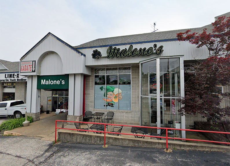 malone's grill & pub in st. louis