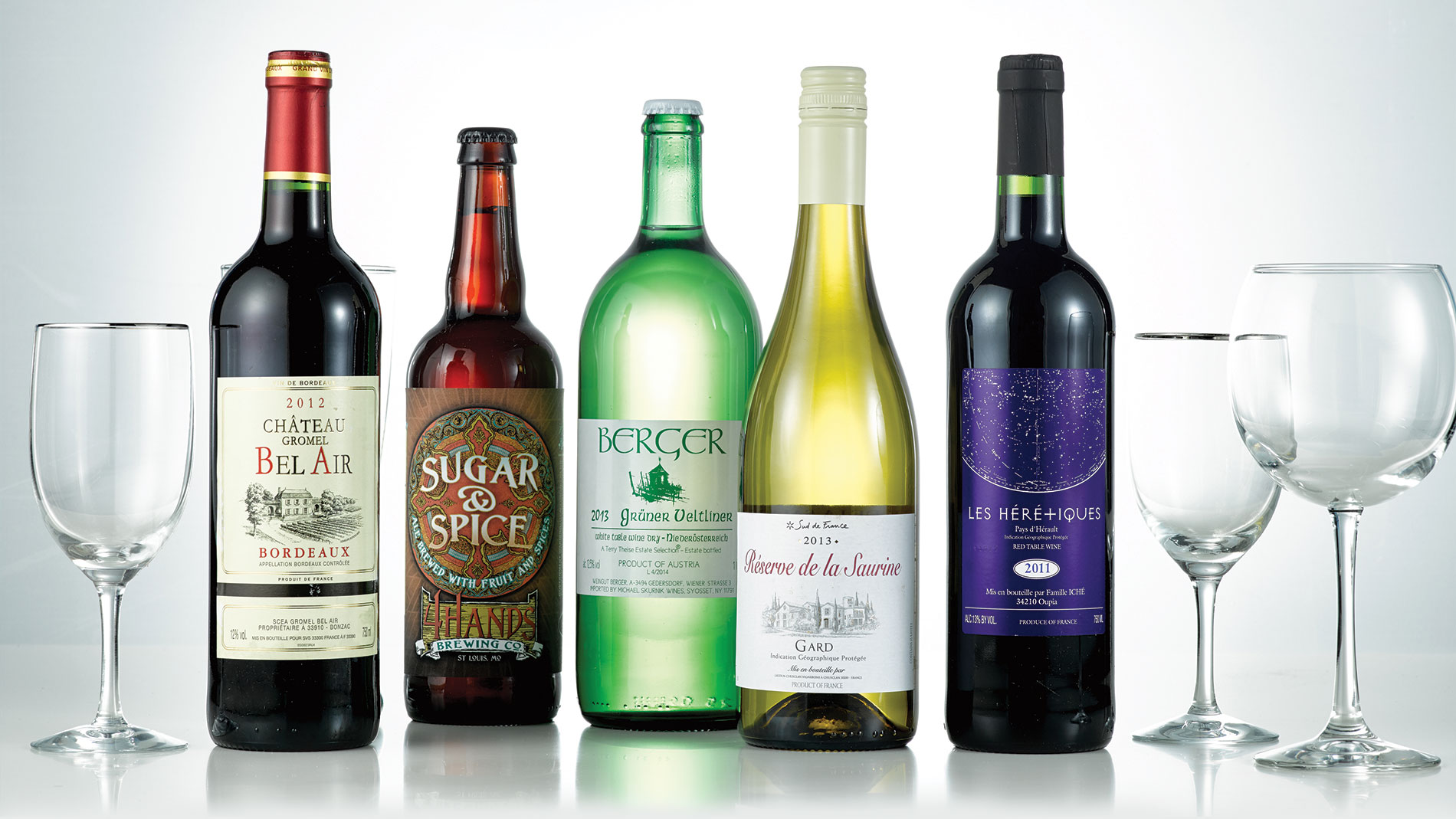 5 bottles under $20 perfect for a potluck