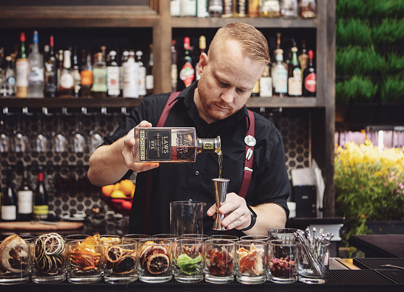 Readers' Choice Bartender of the Year Jacob Smith of blood and sand in st. louis