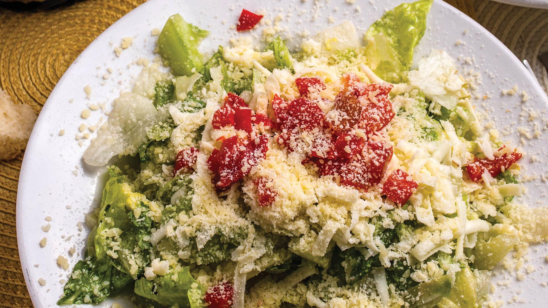 zia's dinner salad