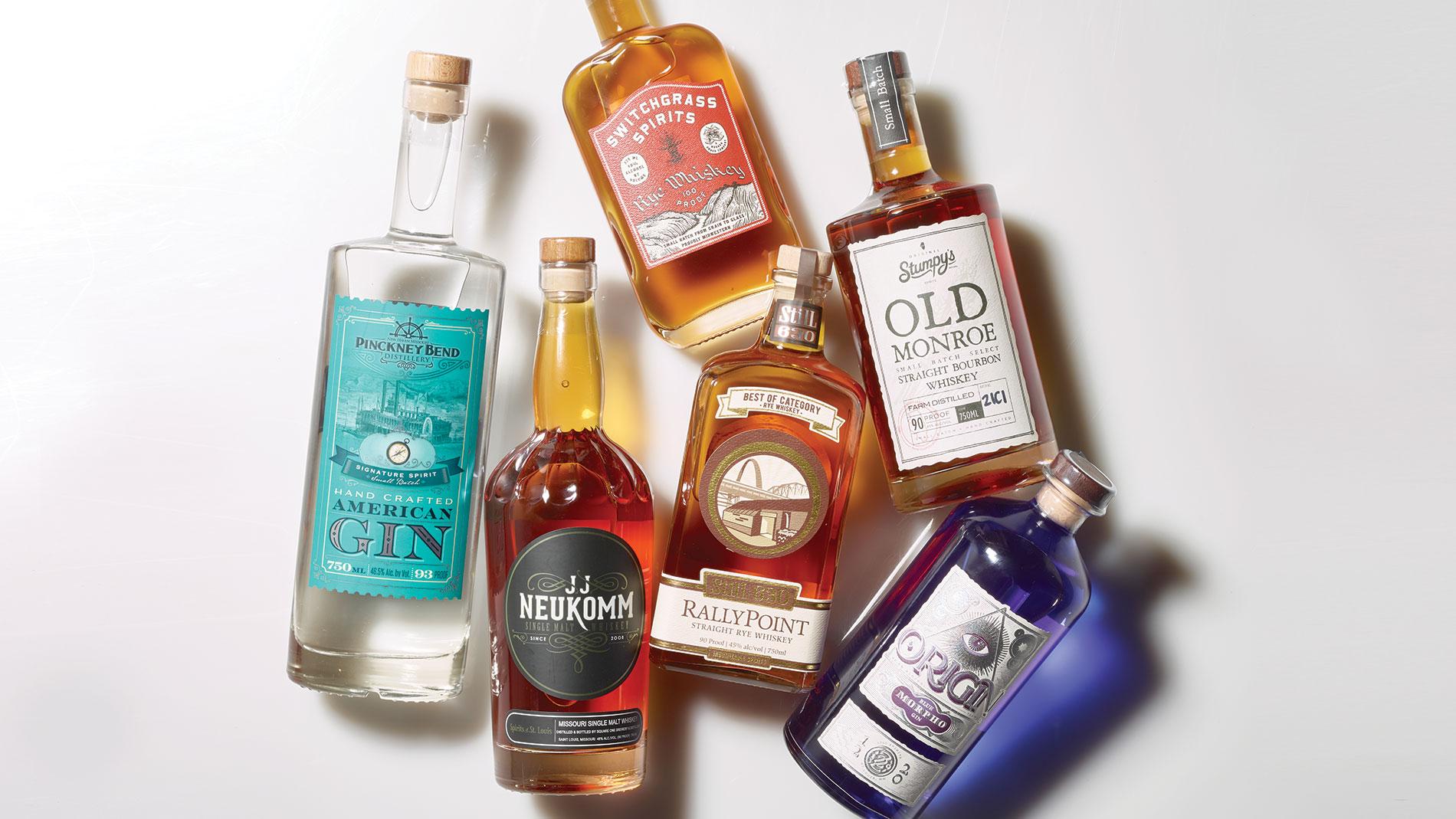 6 Readers' Choice Award-winning St. Louis-made spirits