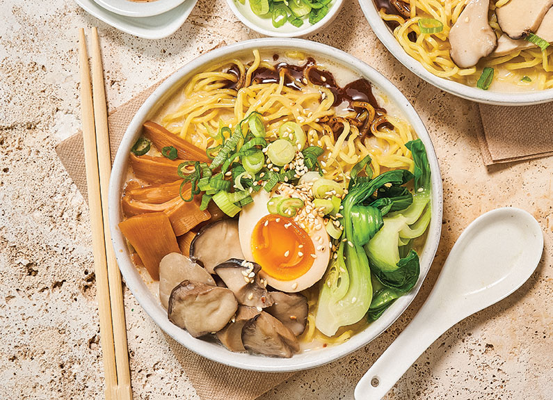 nudo house's shroomed out ramen