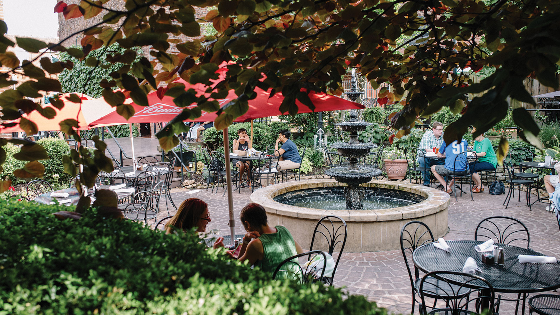 the patio at john d. mcgurk's, your pick for second place favorite patio