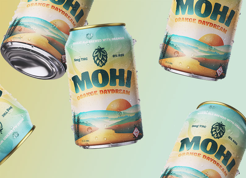 alcohol-free, cannabis-infused beer MOHI