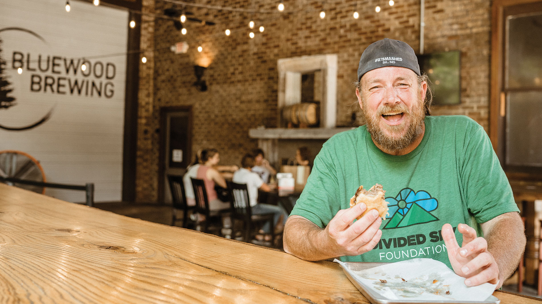 "Mac's Local Eats owner Chris ""Mac"" McKenzie"