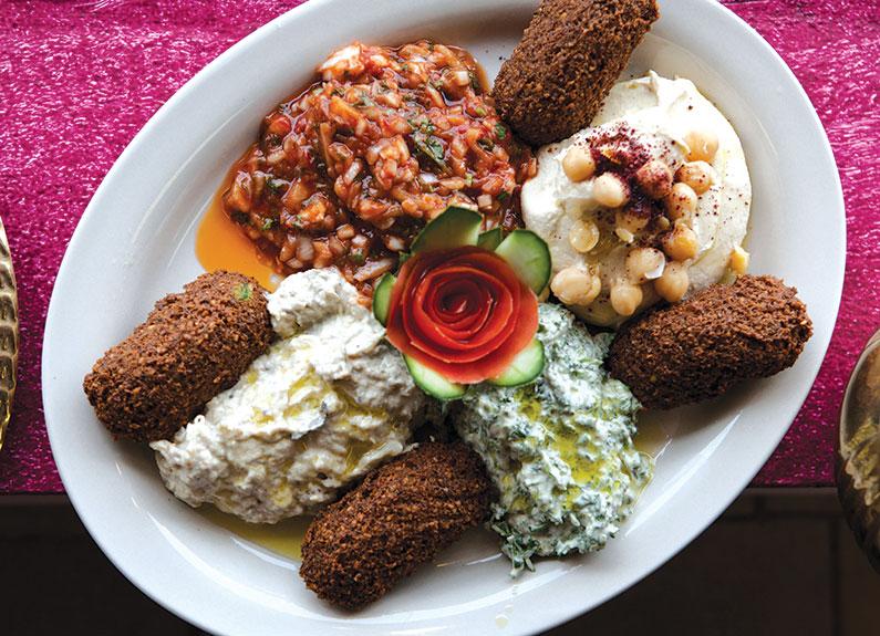 the kaslik veggie platter