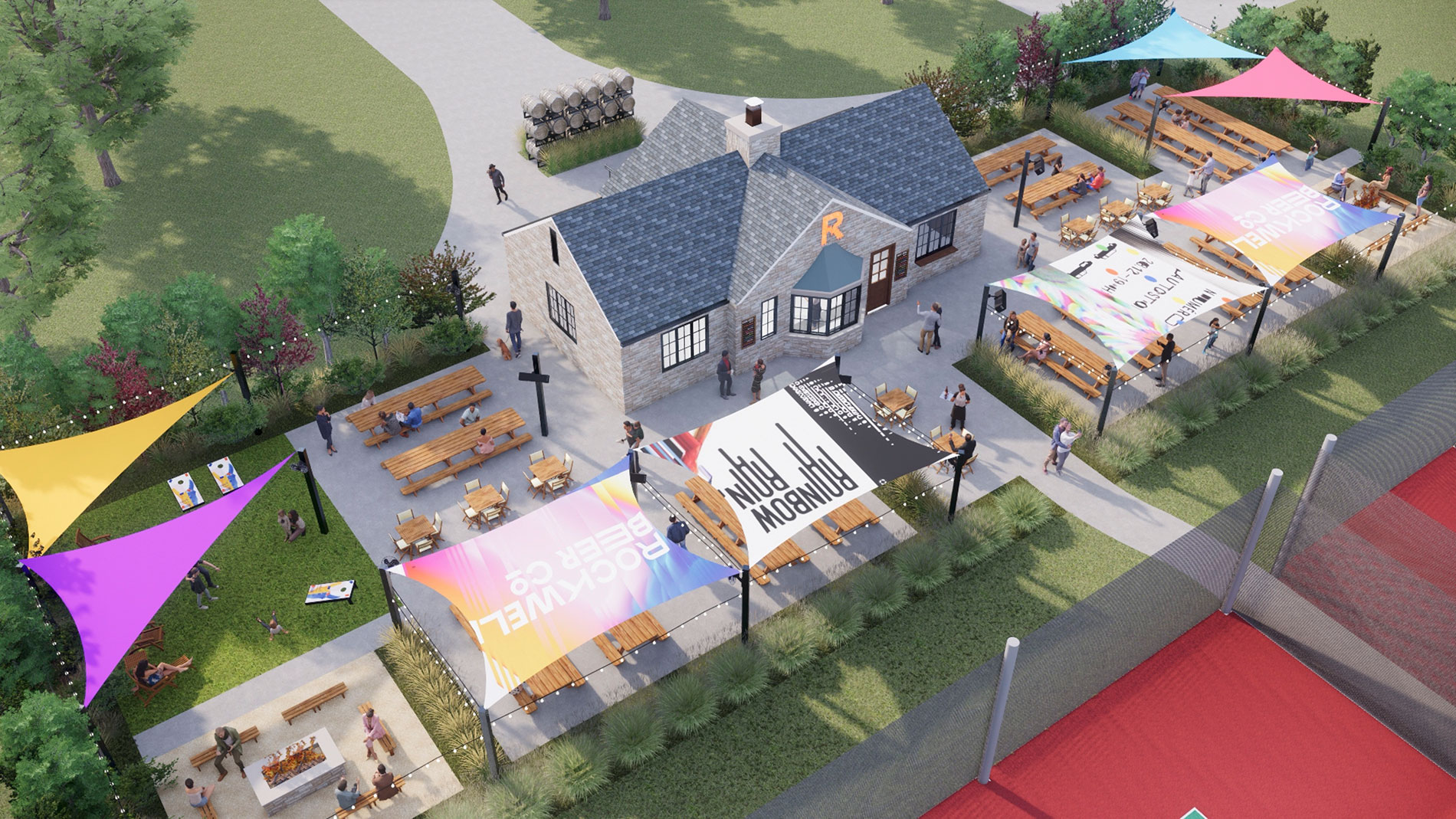 Rockwell Beer Garden brings new pizza-centric program to Francis Park